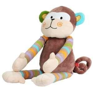 Zobrazit detail - Hračka welurová Baby Ono Opička 57 cm 1273