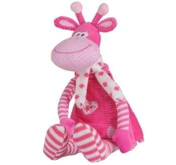 Hračka welurová Baby Ono Žirafa 55 cm 1194