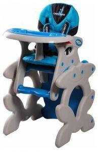 Jídelní židličky Caretero Primus Blue