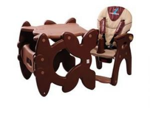 Caretero Primus modrá jídelní židlička + ZÁRUKA 3 ROKY
