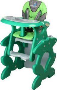 Jídelní židličky Caretero Primus Green
