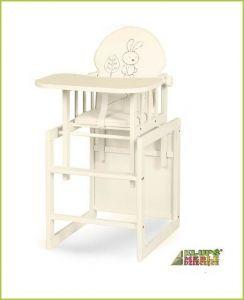 Klupś Safari Zajíček jídelní židlička