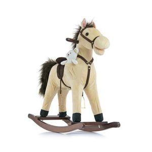 Houpací koník Milly Mally Mustang béžový