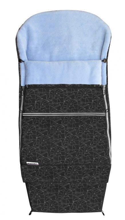 Emitex Combi Extra černá-světle modrá