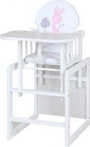 Klupš Jídelní židlička Agnežka III Safari Zajíček