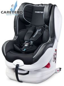 Caretero Defender Plus Isofix 2020 black + KAPSÁŘ ZDARMA