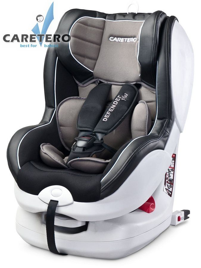 Caretero Defender Plus Isofix 2016 graphite + ZÁRUKA 3 ROKY