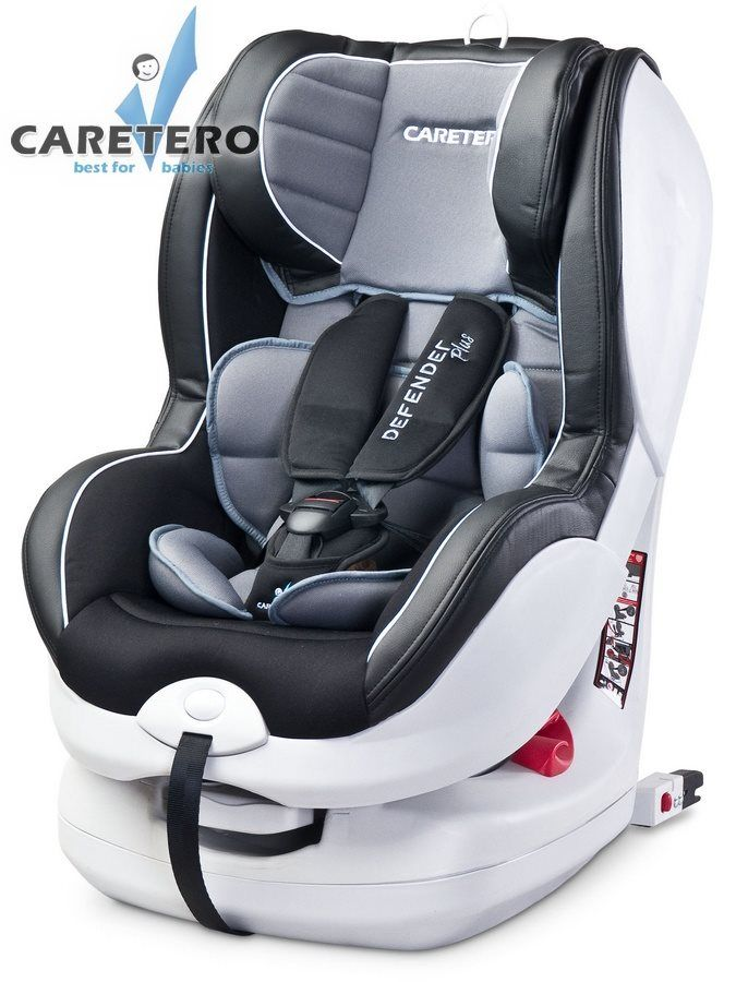 Caretero Defender Plus Isofix 2016 grey + ZÁRUKA 3 ROKY