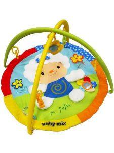 Alexis Baby Mix 3248C ovečka hrací deka s hrazdu