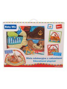 Baby Mix Hrací deka medvídek pirát