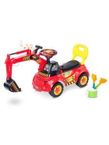 Toyz jezdítko Scoop red