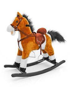Zobrazit detail - Milly Mally Houpací kůň Mustang světle hnědý