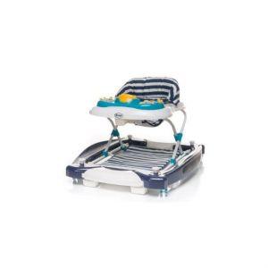 4Baby Chodítko 2V1 SWING Ń GO Navy Blue