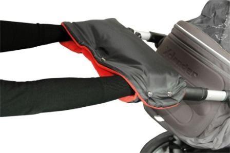 Emitex rukávník černý červený