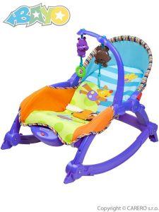 Bayo dětské lehátko 2v1 blue