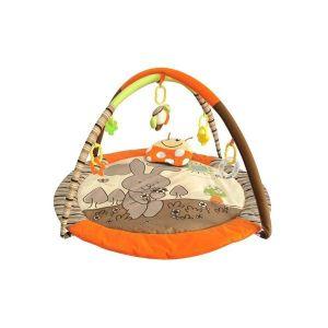 Baby Mix Hrací deka Zajíček oranžová