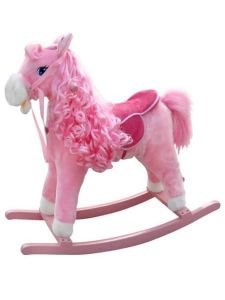 Milly Mally Houpací koník princess růžový