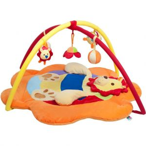 PlayTo Hrací deka lev Oranžová