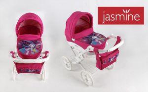 Jasmine Kids kočárek pro panenky motýlek