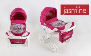 Jasmine Kids kočárek pro panenky pejsek