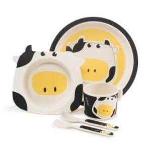 Zopa Bambusová sada nádobí Cow