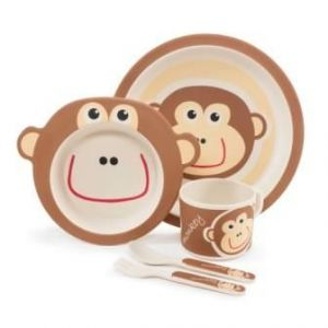 Zopa Bambusová sada nádobí Monkey