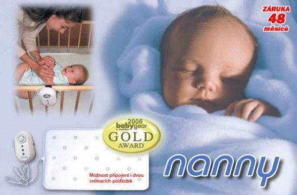 Jablotron Monitor dechu Nanny BM 02