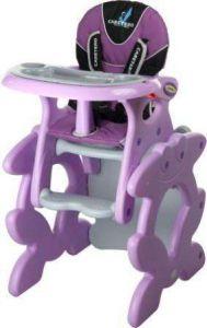 Jídelní židličky Caretero Primus Purple