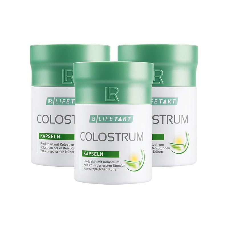 LR Health & Beauty LR Lifetakt Colostrum 3 x 60 kapslí