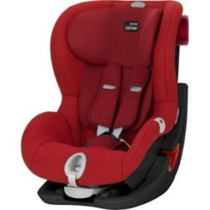 Britax Römer King II LS Black Edition 2017 Flame Red