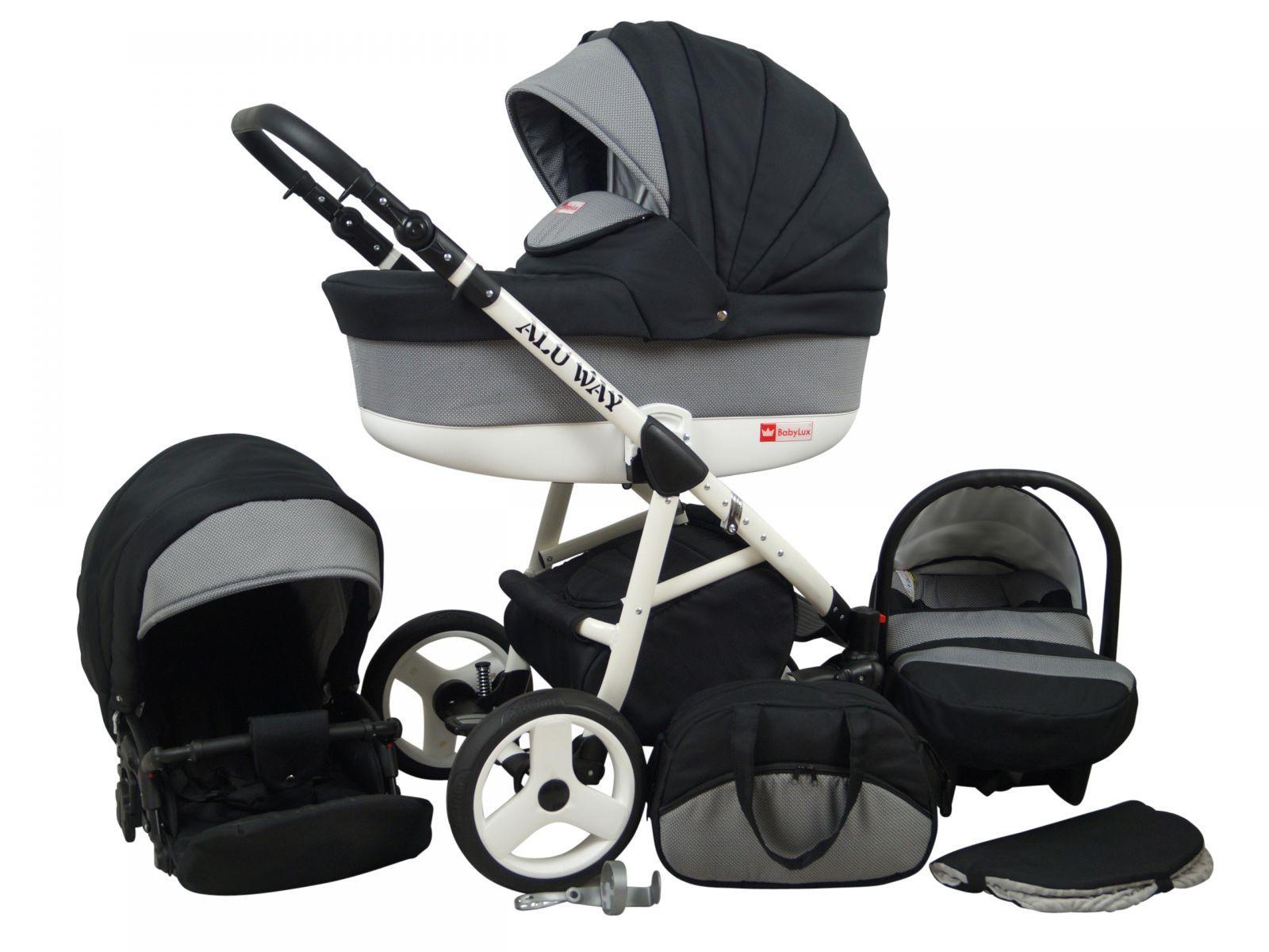 Raf pol Baby Lux Alu way 2v1 2020 Carbon + u nás ZÁRUKA 3 ROKY Raf-pol