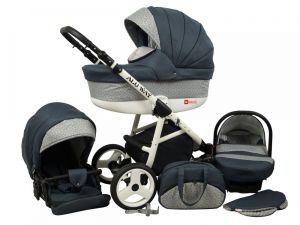 Raf pol Baby Lux Alu way 2v1 2020 Dark Grey