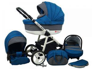 Raf pol Baby Lux Alu way 2v1 2020 Indigo