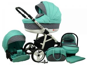 Raf pol Baby Lux Alu way 2v1 2020 Mint