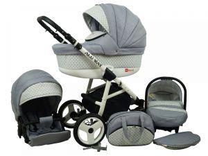 Raf pol Baby Lux Alu way 2v1 2020 Silver