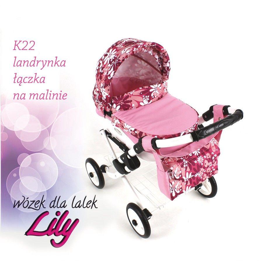 Adbor Lily kočárek pro panenky 22