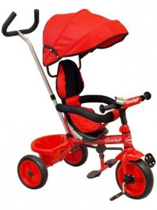 Baby Mix tříkolka červená