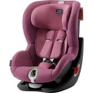 Britax Römer King II LS Black Edition 2018 Wine Rose