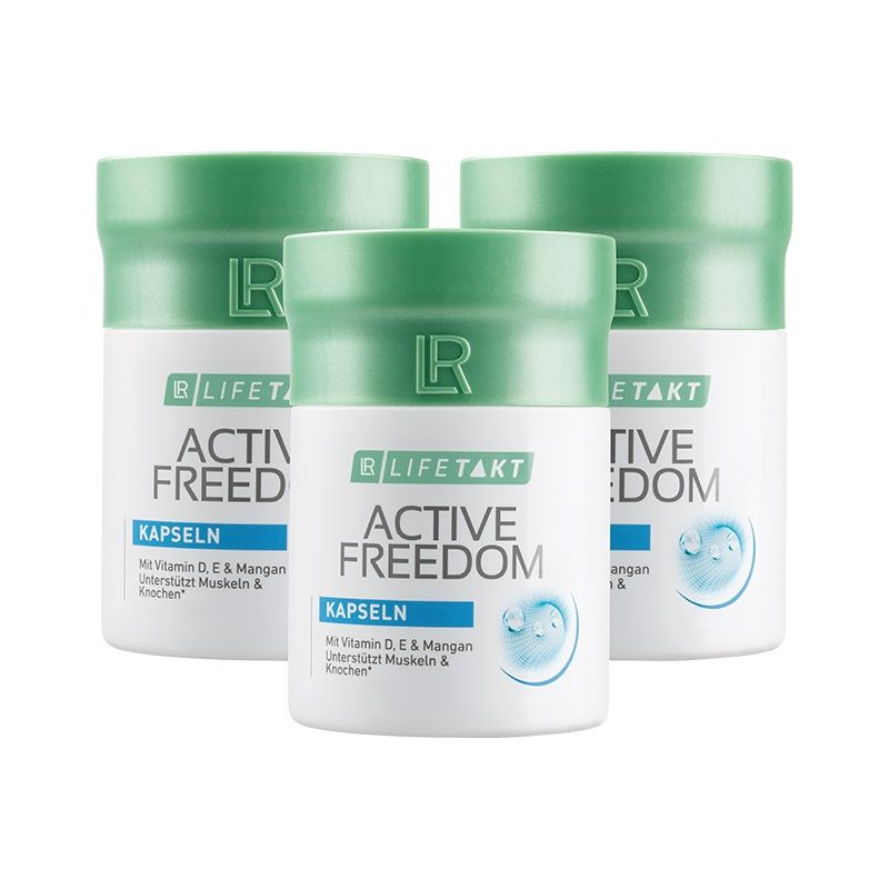 LR Active Freedom Plus 3 x 60 kapslí