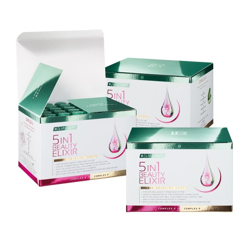 LR Lifetakt 5in1 Beauty Elixir Série 3 ks 90 x 25 ml