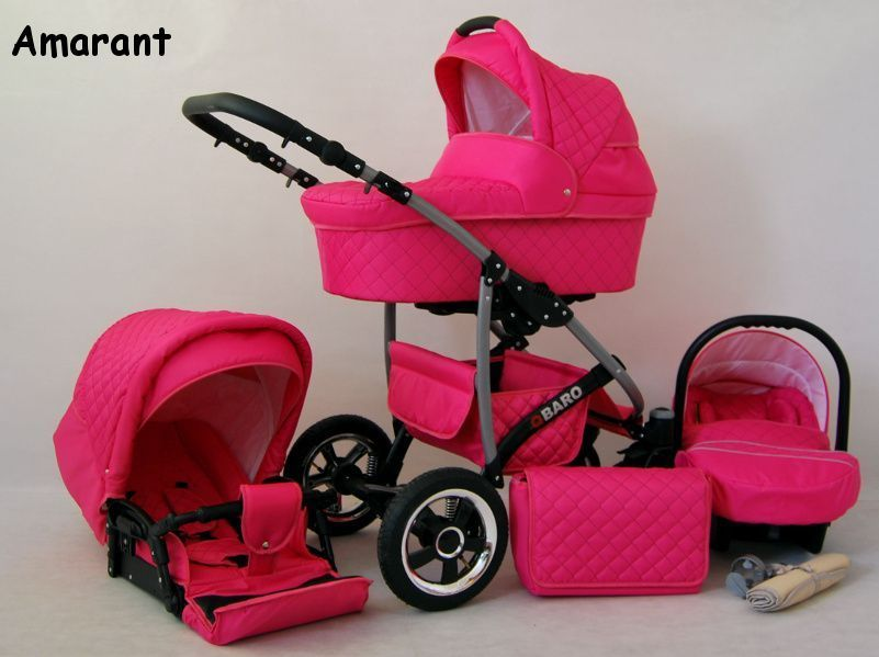 Raf-pol Baby Lux Qbaro 2019 Pink