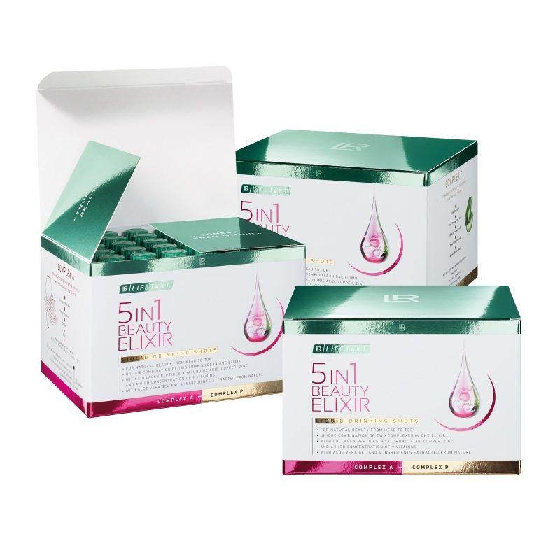 LR Health & Beauty LR Lifetakt 5in1 Beauty Elixir 30 x 25 ml série 3 ks