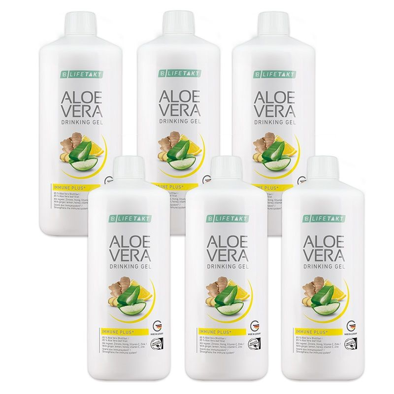 LR Aloe Vera Drinking Gel Immune Plus Série 6 x 1000 ml