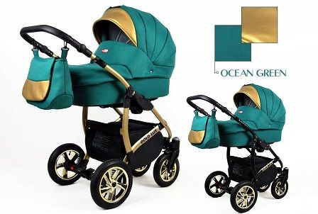 Raf-pol Baby Lux Gold Lux 2019 Ocean green + u nás ZÁRUKA 3 ROKY