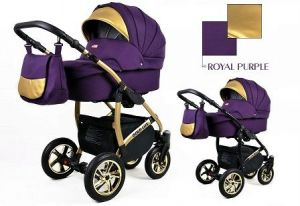 Raf-pol Baby Lux Gold Lux 2019 Royal purple