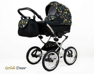 Raf-pol Baby Lux Margaret Chrome 2020 Gold deer