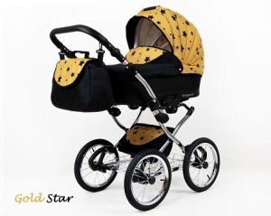 Raf-pol Baby Lux Margaret Chrome 2020 Gold star