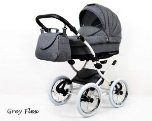 Raf-pol Baby Lux Margaret Chrome 2020 Grey flex