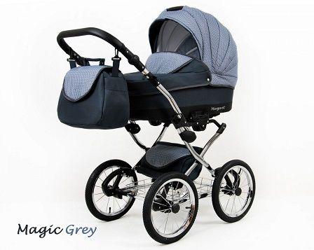 Raf-pol Baby Lux Margaret Chrome 2020 Magic grey + u nás ZÁRUKA 3 ROKY