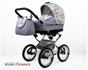 Raf-pol Baby Lux Margaret Chrome 2020 Wild flowers